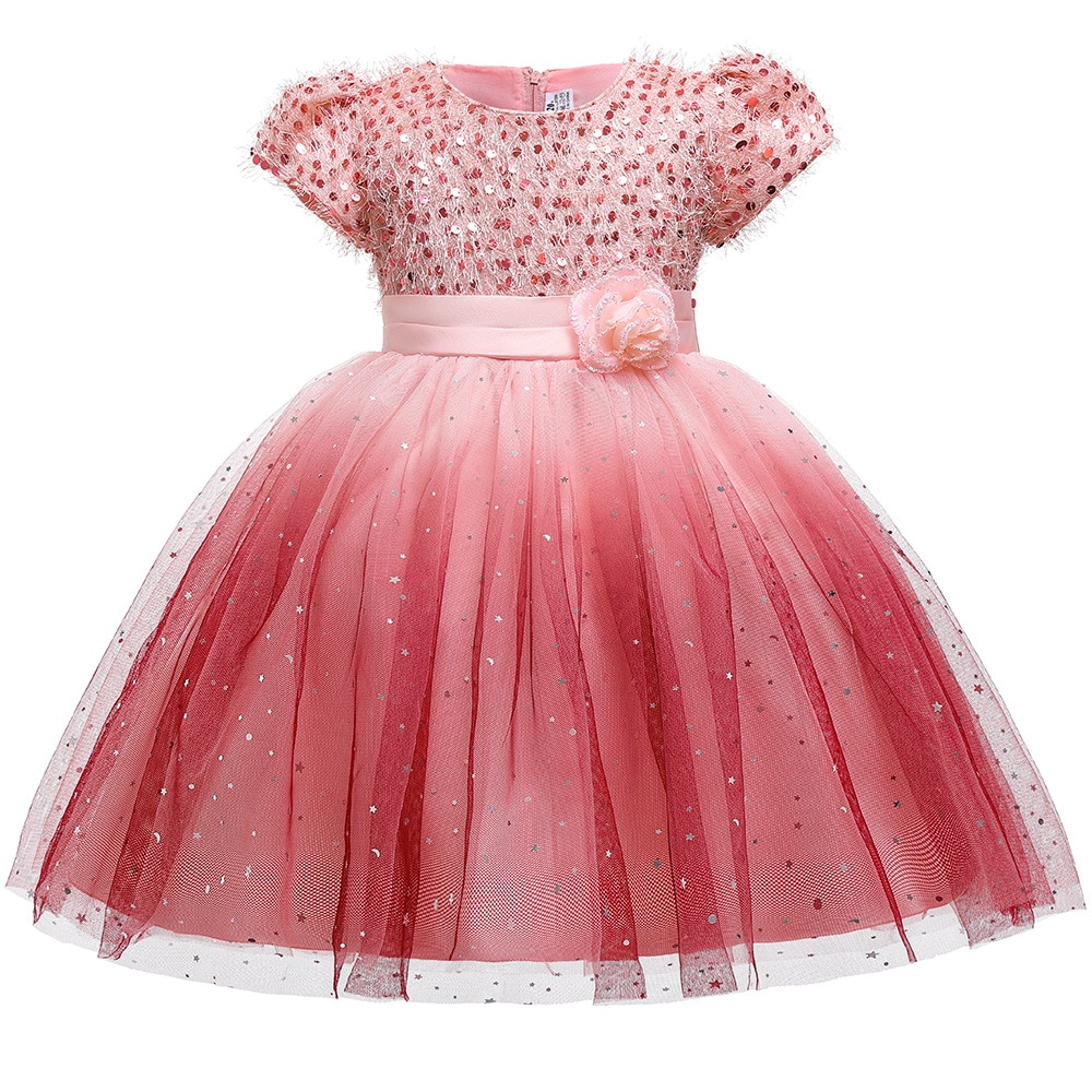 new arrival princess short sleeves lace flower girl dresses 2019 pink appliqued ball gowns for girls first communion dresses Flower Girl Dresses Short Sleeves Lace Appliqued Girls Pageant Tulle Dresses O-Neck For Holy Communion Dresses