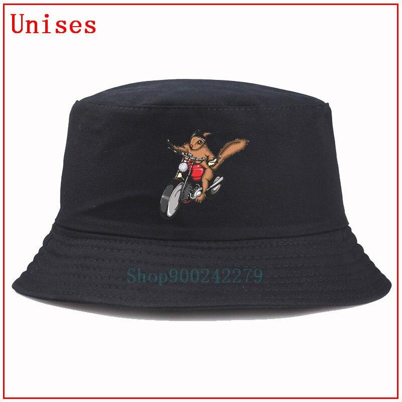 Sombrero de pescador de motocicleta y ardilla en una bicicleta, sombrero de hip hop, sombrero de pescador Panamá, sombrero de pesca, sombreros de mujer fischerhut, sombrero de verano para hombres