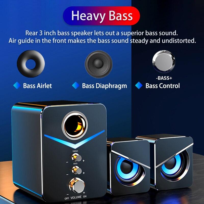 Altavoz Bluetooth con sistema De cine en casa, dispositivo De audio para...