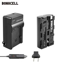 Bonacell NP-F550 NP F570 NP-F530 NP-F570 NP F550 NP-F750 Batterie 2900mAh + Auto Ladegerät für Sony CCD-SC55 CCD-TRV81 MVC-FD81 l70