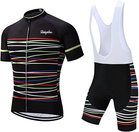 Ralvpha 2021 Cycling Suits Road Bike Wear Clothing Men's Pro Bib Shorts Sets Mtb Bicycle Jersey Clothes Maillot Ciclismo Uniform