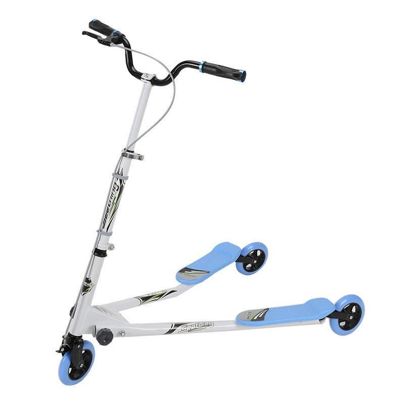 Para adultos de alta calidad de tres ruedas de pie Scooter plegable Kick Scooters twisting scooter