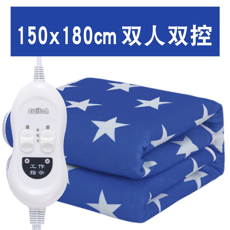 Heating Pad Bed Sheet Electric Blanket Heated Blanket Electric Mattress Koc Podgrzewany Electric Blankets For Beds BE50DRT enlarge