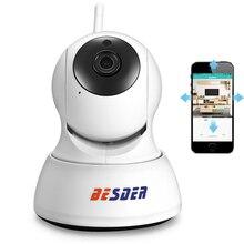 BESDER HD 720P HD cámara IP inalámbrica Wifi Wi-Fi vigilancia de Video noche cámara de seguridad CCTV Red interior Monitor de bebé P2P iCSee