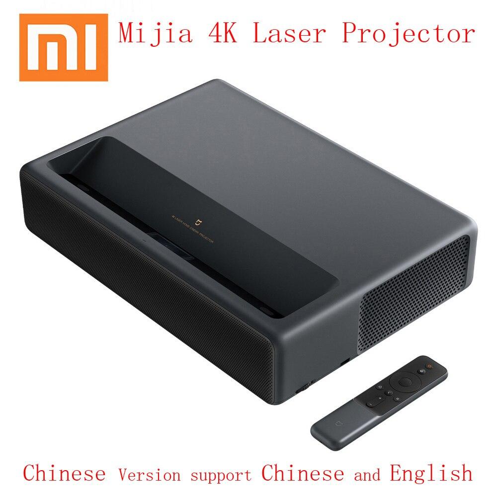 Xiaomi Mijia 4K Laser Projector Home Cinema TV Projetor Short Focus 5000 Lumens Wifi Bluetooth 3D Proyector DPI Video Beamer