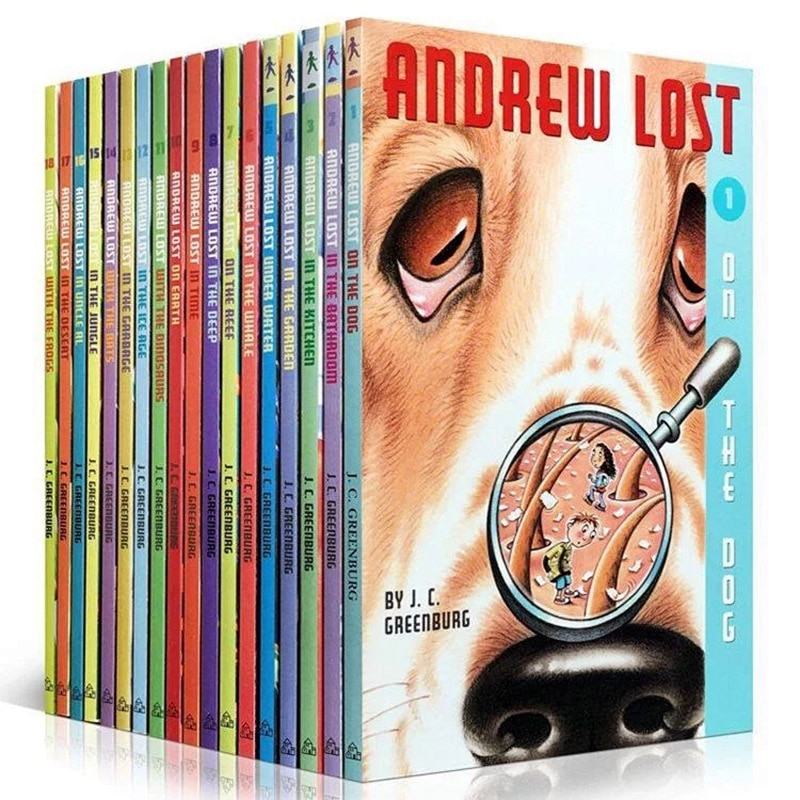 Micro Exploration Andrew Lost Children's Encyclopedia Chapter Bridge Book Recommended Readings for American Elementary Schools