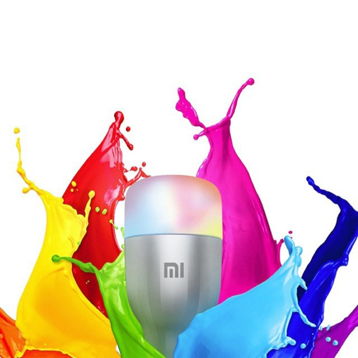 Xiaomi 10W RGB E27 220 - 240V LED Smart Bulb