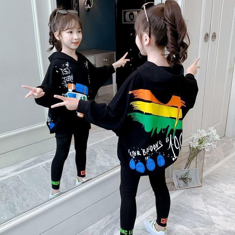 Spring Autumn Lightweight Women's Sweatshirt Jacket Cute Girly Kawaii Lolita Style Lion Print Pink Bag Hip Preppy Hoodie