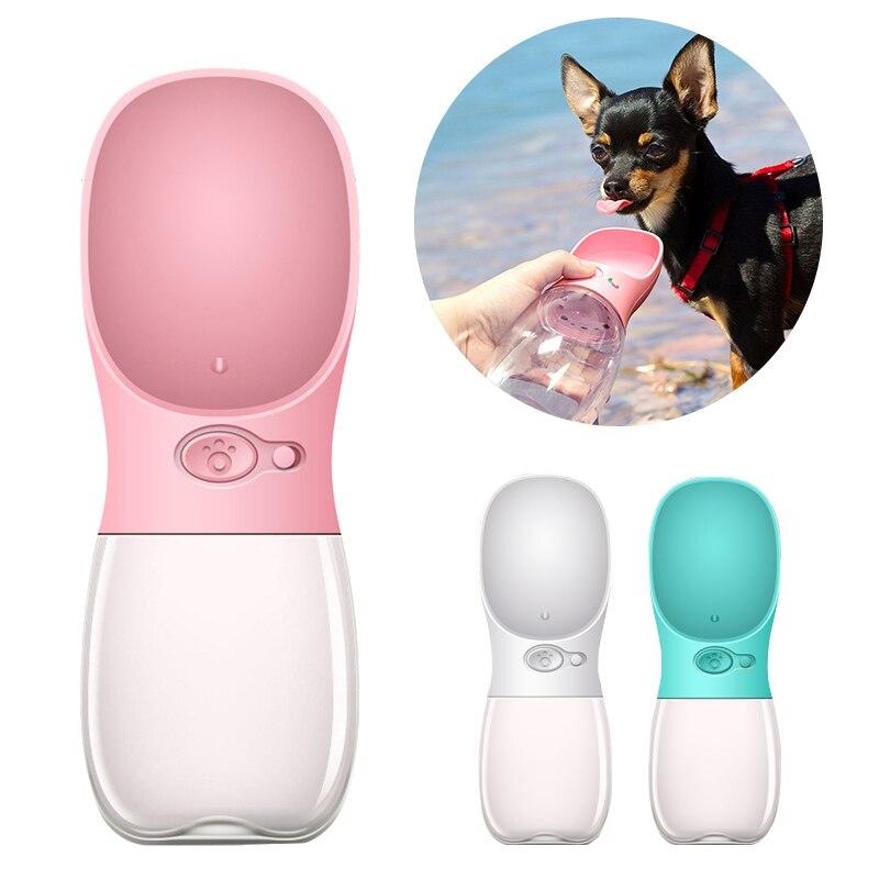 Cuenco para mascotas, botella de agua para perro grande, dispensador para mascotas de viaje, accesorios