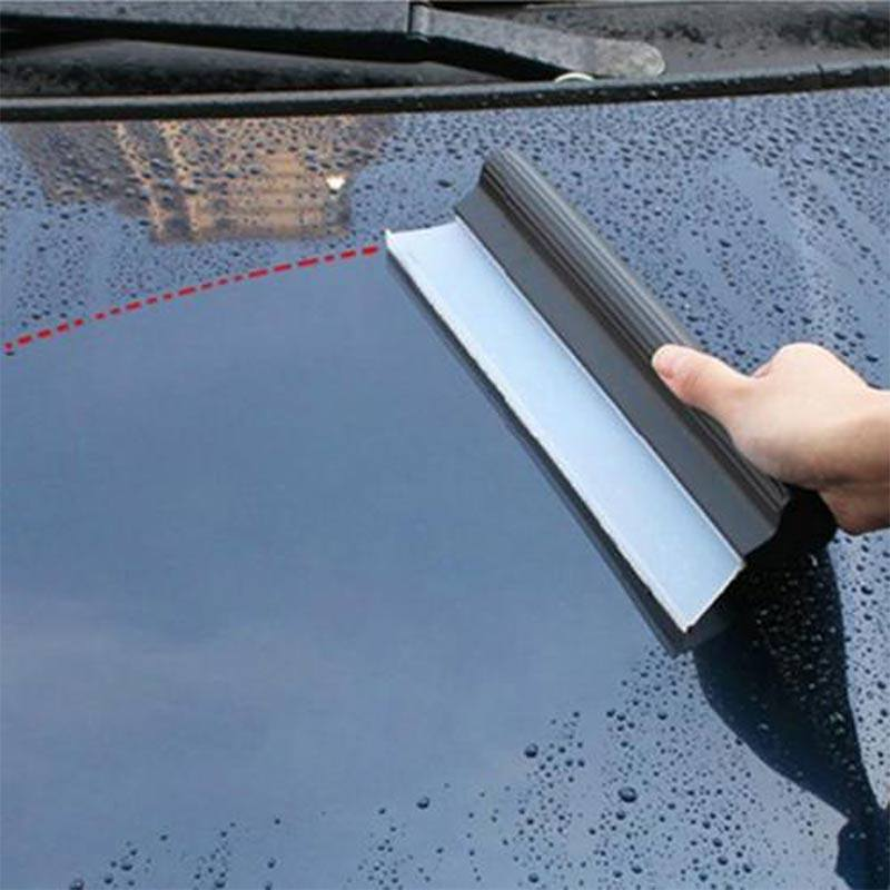 Hot Selling 1pcs Silicone Car Water Wiper Squeegee Blade Wash Window Glass Car Water Wiper Carro Wholesale Quick Delivery Csv Scraper Aliexpress