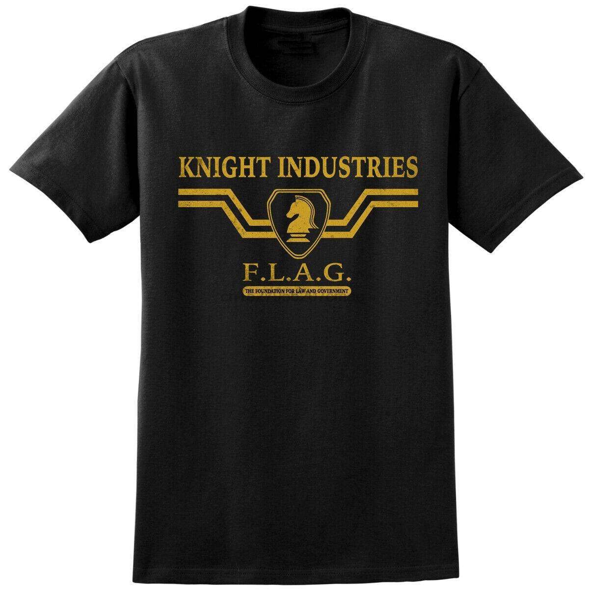 Knight Rider inspirado en camiseta-clásico, Retro 80s TV Tele mostrar Tee-KITT Coche