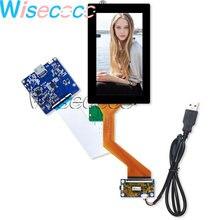 5.5 pouces 4K IPS écran LCD 60pin 3840X2160G + G écran tactile capacitif panneau avec HDMI MIPI MICRO USB carte pilote pour verre VR