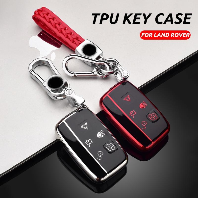 Étui à clé souple pour voiture en TPU porte-couvercle complet pour Hyundai IX30 IX35 IX20 I40 IX25 Tucson Elantra Verna Sonata voiture porte-clés intelligent
