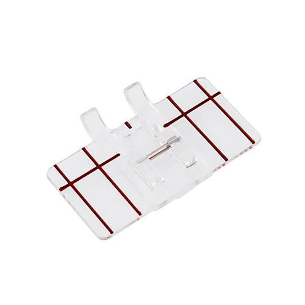 Huishoudelijke Naaimachine Grens Gids Parallel Stitch Meten Voeten Naaivoet Horizontale Rode Lijn Wedstrijden De Naald Drop