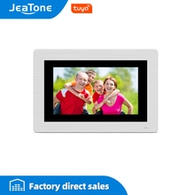 JeaTone 7 zoll WIFI IP Video Tür Sprechanlage Verdrahtete Einzel monitor Access Control System Touch Screen Motion Erkennung