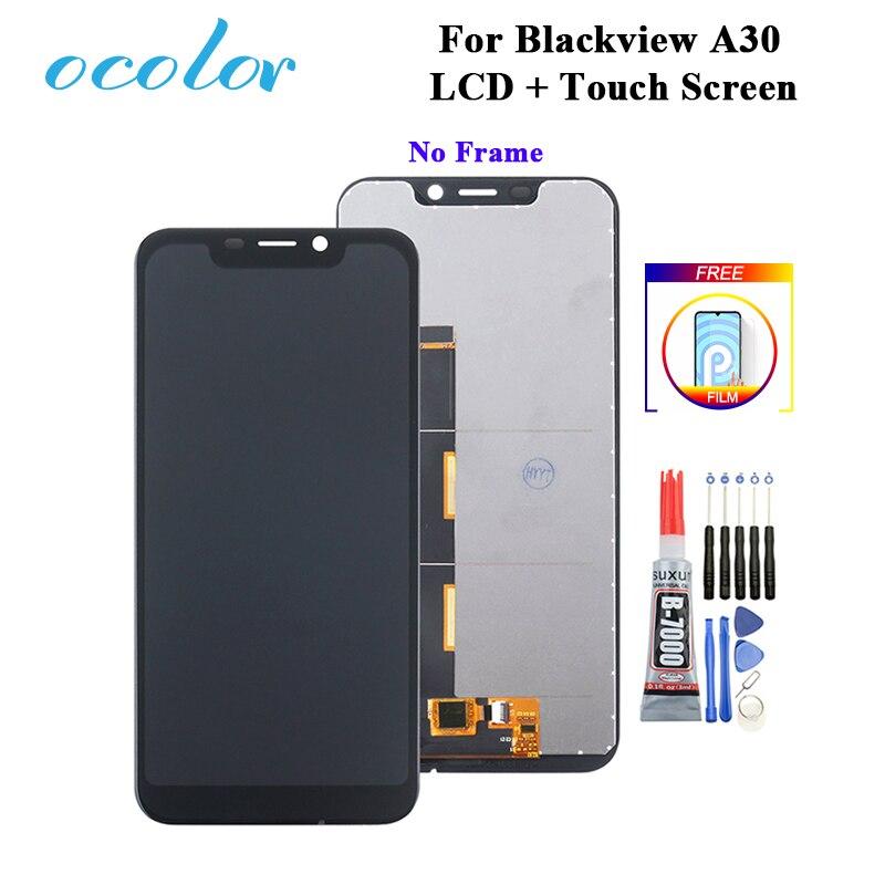 """Ocolor для Blackview A30 ЖК-дисплей и сенсорный экран 5,5 """"дигитайзер Замена + Инструменты + клей + пленка для Blackview A30 LCD"""