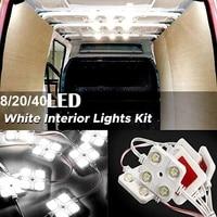 82040 led interior lights kit for trailer lorries sprinter ducato transit 40led interior lights kit for trailer lorries