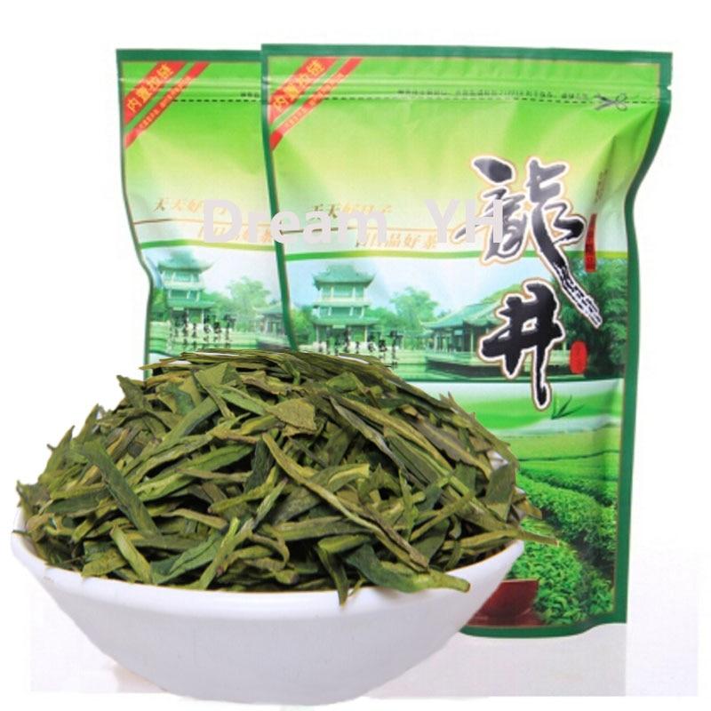 2020 té verde famoso buena calidad dragón Bueno Largo de té verde-jing chino Verde té para perder peso de atención de la salud