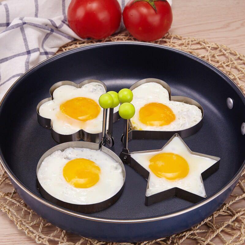 1 pçs pancake cozimento acessórios pastelaria molde omelete titular delicioso cozinha gadgets cozinha cozinhar ferramentas 10.5*8.5 cm