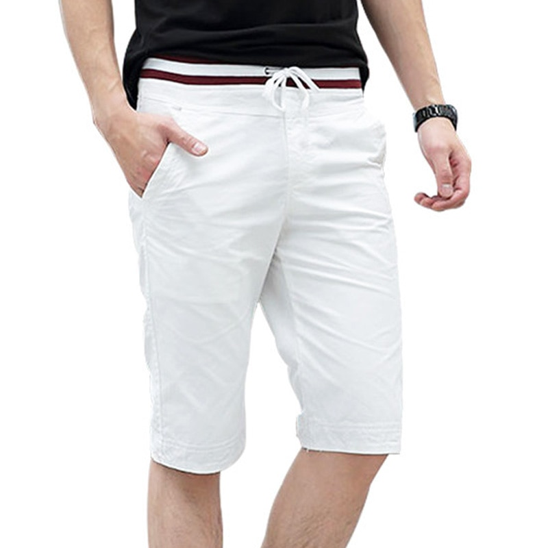Летние повседневные шорты 2021, классические мужские короткие шорты, Новое поступление, хлопковые мужские шорты, мужские пляжные облегающие ...