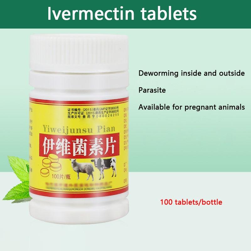 Comprimidos de Ivermectina 100 7.5mg