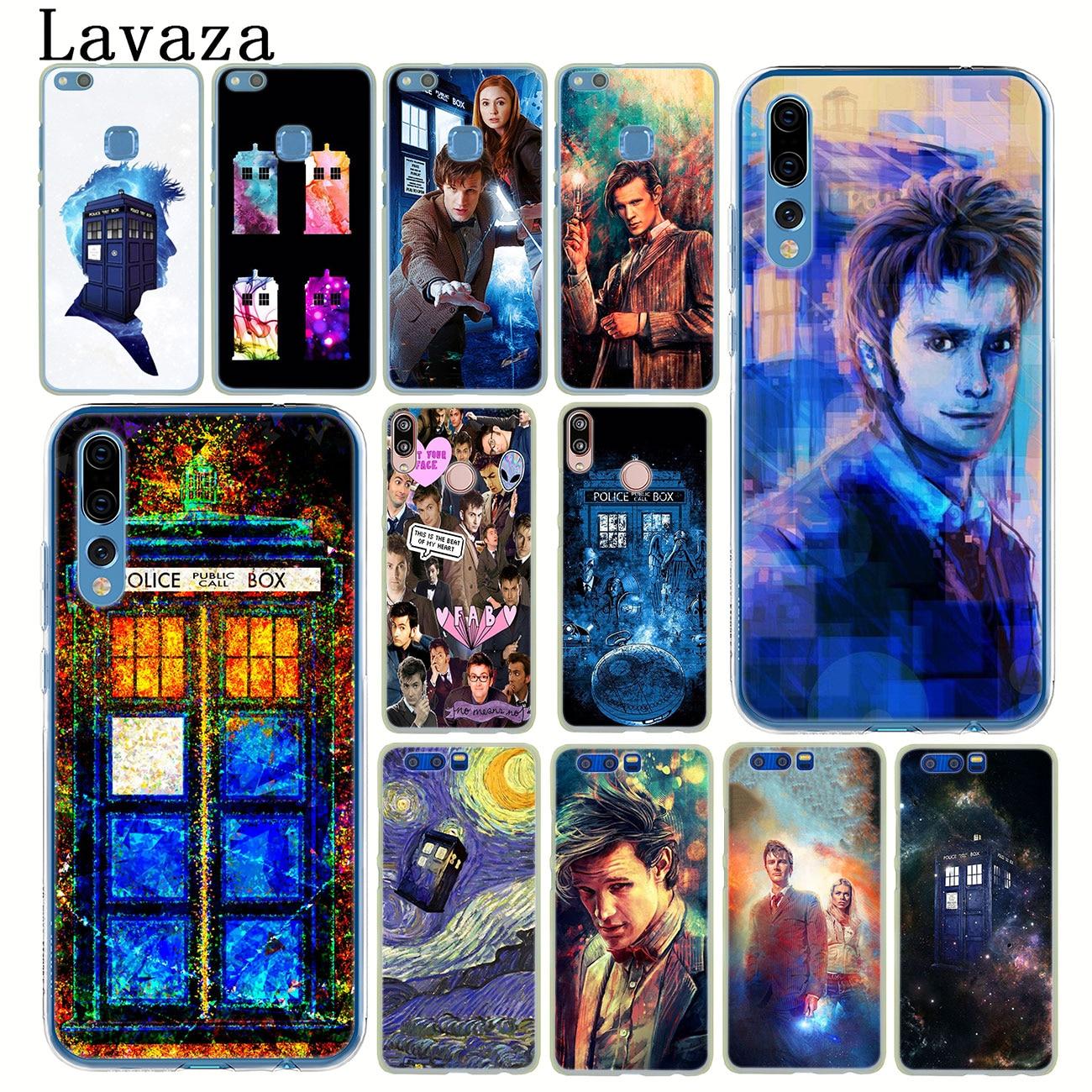 Lavaza Tardis Box Doctor who Phone Case for Huawei P30 P20 Pro P9 P10 Plus P8 Lite Mini 2016 2017 P smart Z 2019 Cover