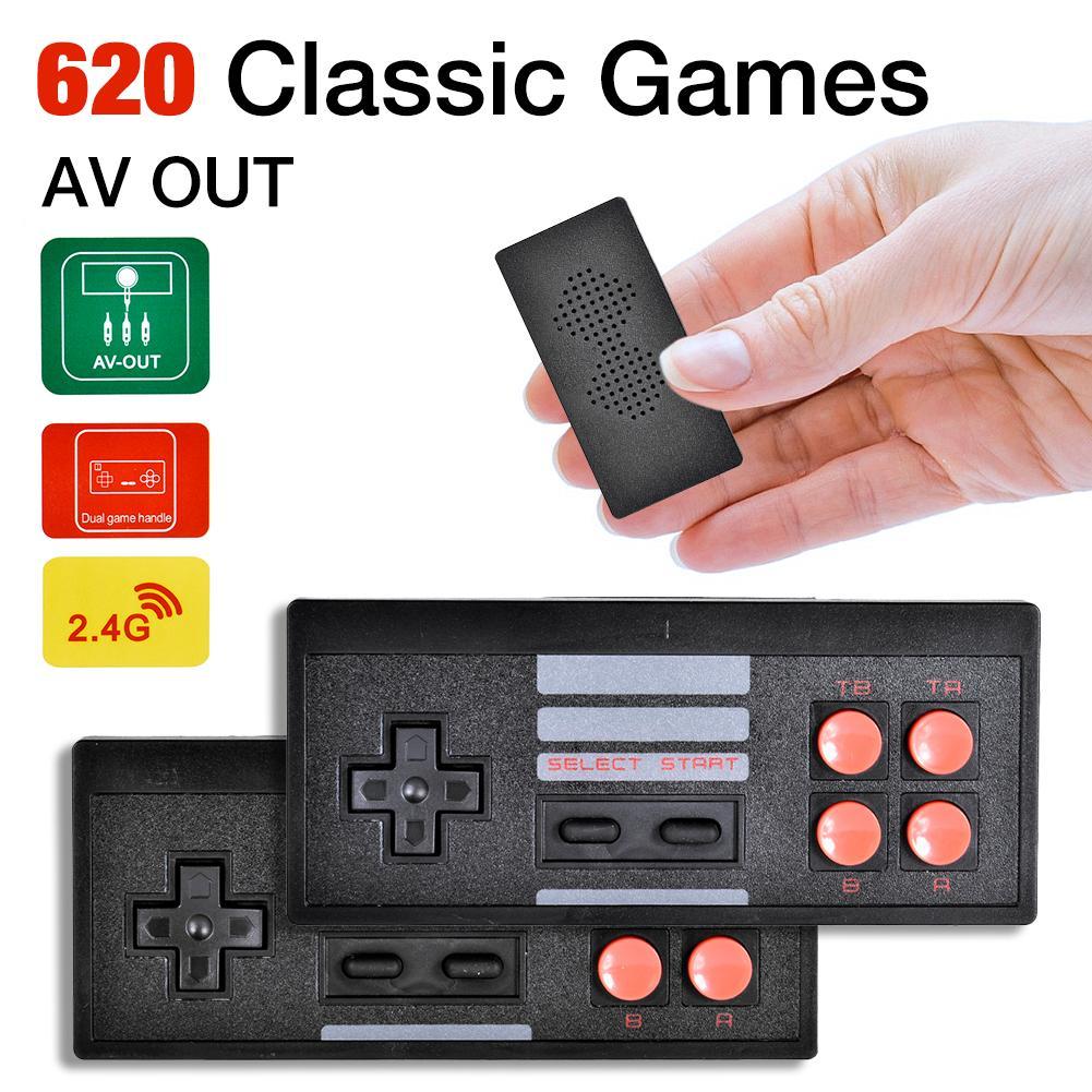 Consola de videojuegos Retro, controlador de juegos inalámbrico con 628 juegos clásicos,...