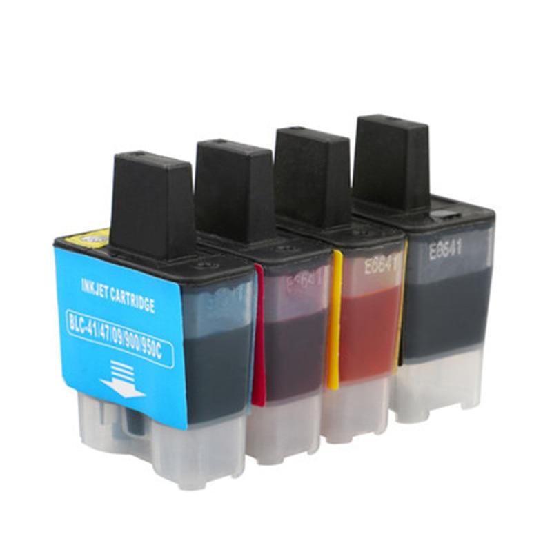4x LC950 950 LC900 900 LC47 47 LC41 41 LC09 09 cartuchos de tinta Compatible para hermano MFC-615CL MFC-620CN MFC-620CLN MFC-640CW