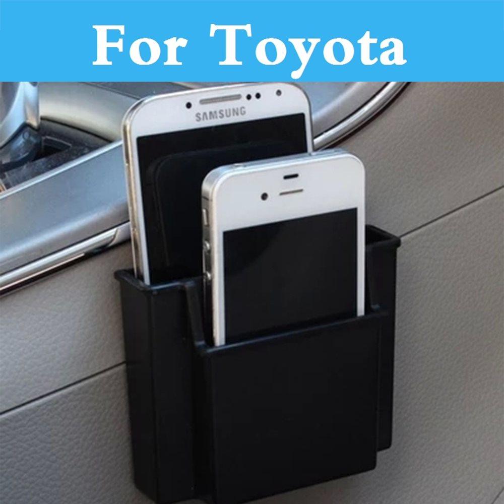 Gear Shift Side Car Storage Box Phone Holder Organizer Box Case For Toyota Camry Avensis Aygo Belta Brevis Blade Caldina Cami