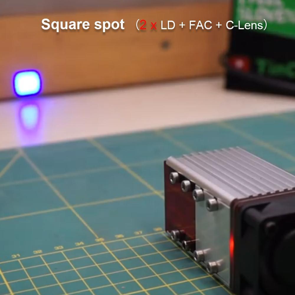 NEJE 80Watt A40640 CNC Laser Engraver Cutter Module Ktis - Fac Tech - 2 X Laser Beam 2 Diodes High Power Wood Mark Cutting Tool enlarge