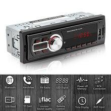 5208E 1 DIN автомобильный FM радиоплеер Bluetooth USB 2,0 AUX in TF карта U диск автомобильный стерео Мультимедийный аудио mp3 плеер головное устройство