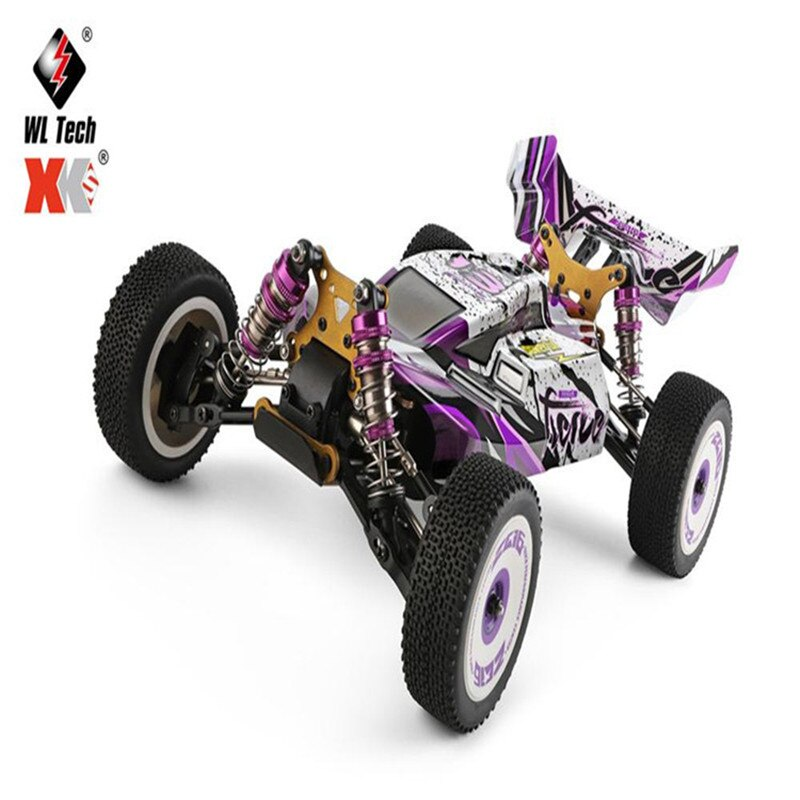 Wltoys 124019 124018 RC Car RTR 1/12 2.4G 4WD 60km/h High Speed Metal 550 Brushed Motor Off-Road Cli