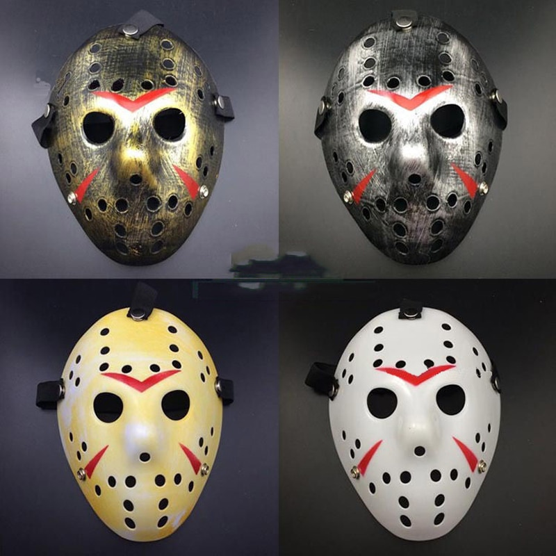 Jason Voorhees Friday The 13th Horror Hockey Mask Scary Halloween Party Cosplay Costume Killer Masks printio jason voorhees