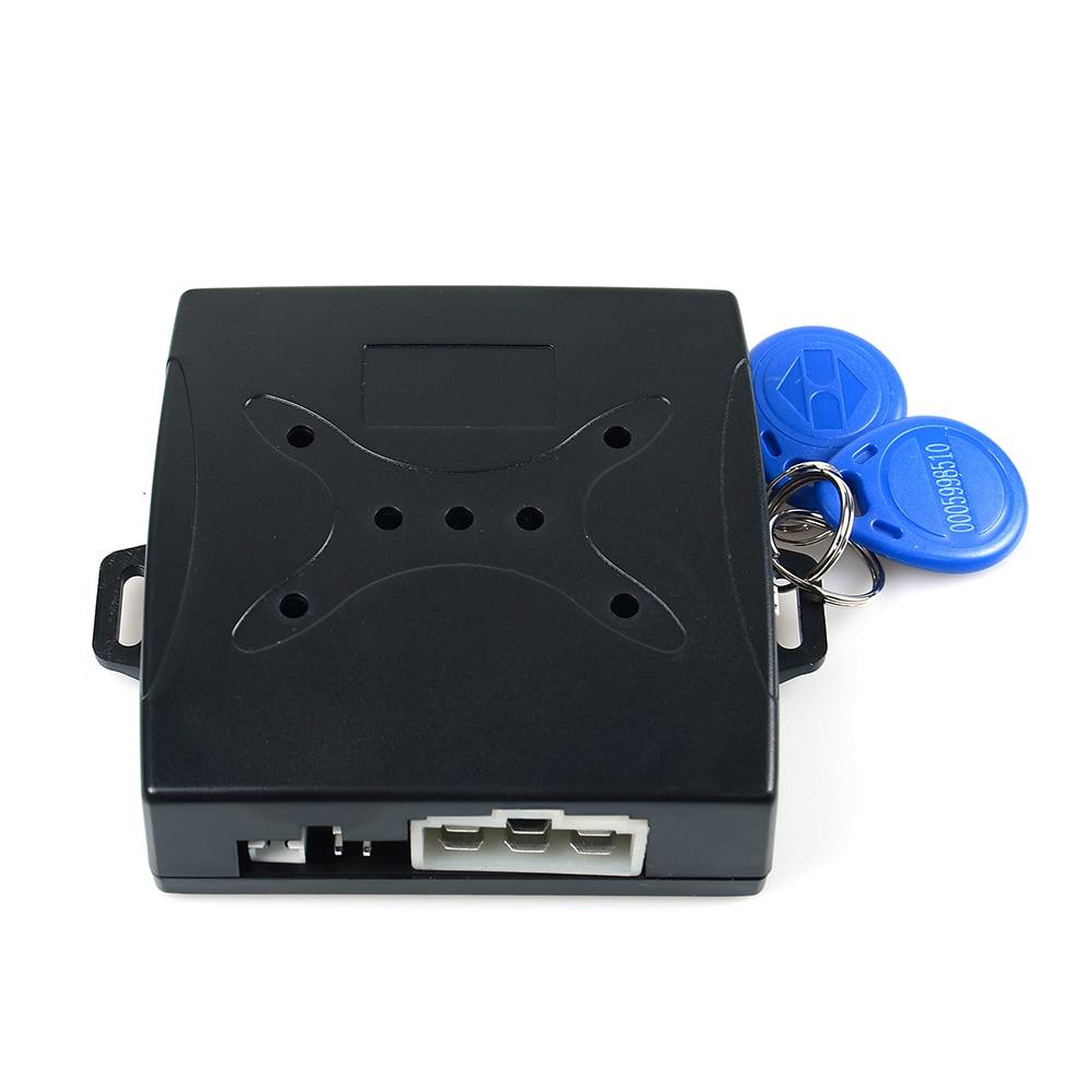 Auto Auto Alarm Auto Motor Push Start-Taste RFID Schloss Zündung Starter Keyless-Entry-Start Stop Wegfahrsperre Anti-diebstahl system