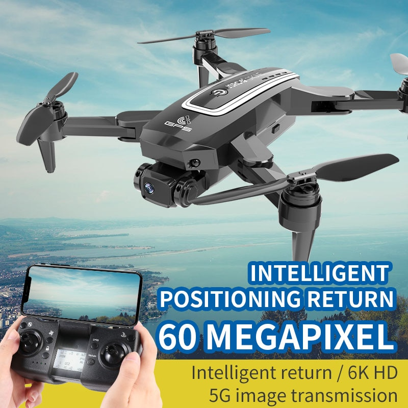 2021 S4 GPS Drone 5G WIFI FPV 4K 6K HD Camera Professional Long Distance Moter Brushless RC Quadcopter Dron PK L900 Pro SG108 enlarge