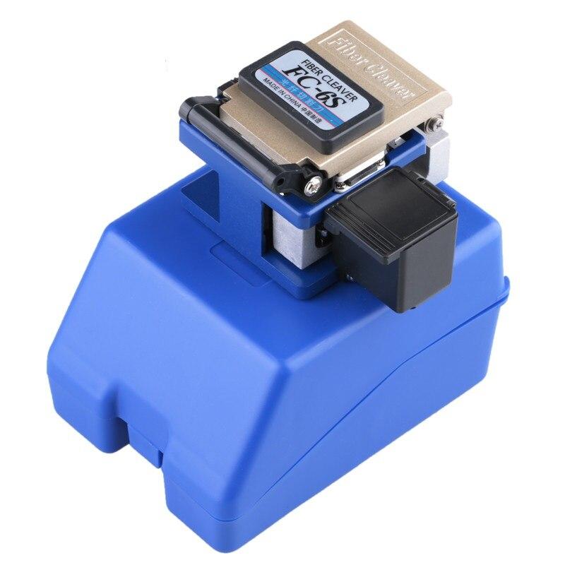 Cleaver oem FC-6S fácil splicer fibra óptica fusão splicer cutelo função de foco automático ftth