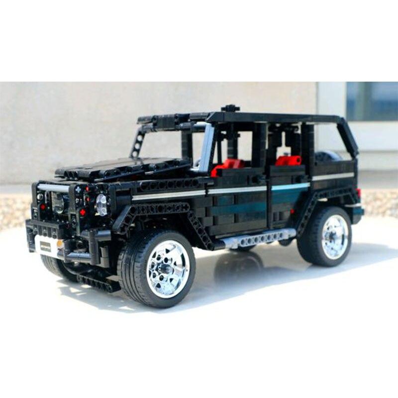 En stock 701960 1343 Uds creador Serie Técnica MOC G500 big G bloques ladrillos niños juguetes regalo de Navidad