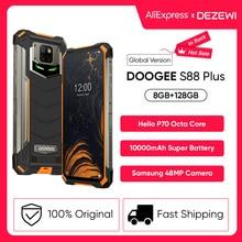 IP68/IP69K DOOGEE S88 Plus Rugged Mobile Phone Global Version 10000mAh Battery 48MP Camera 8GB 128GB