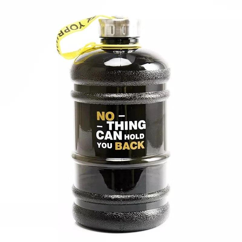 2.2 lbig grande garrafa de água grande capacidade chaleira esportes ao ar livre ginásio treinamento fitness acampamento correndo garrafas treino