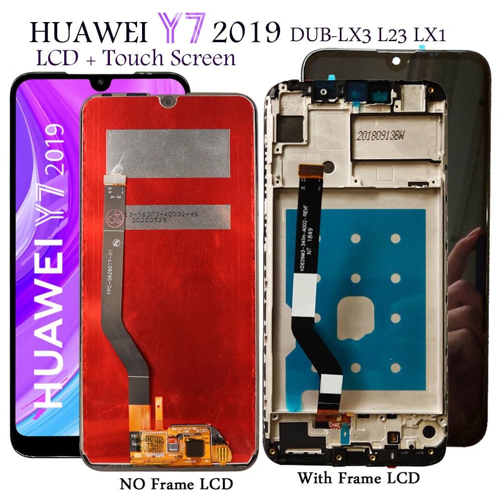 عرض لهواوي Y7 2019 DUB-LX1 LX3 LCD عرض تعمل باللمس استبدال ل Y7 رئيس/Y 7 برو 2019 DUB-LX2 LX23 LCD شاشة