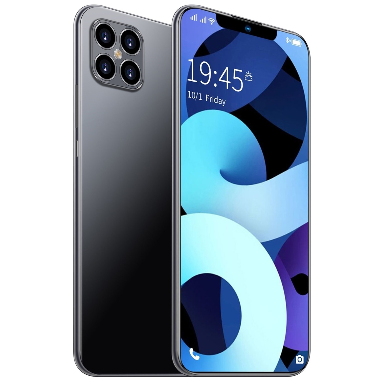 i13 Pro+1GB+8GB Android 8.1 Smartphone Quad-Core 6.3 Inch Mobile Phone Dual SIM card + TF Card Android 8.1 System Smartphone