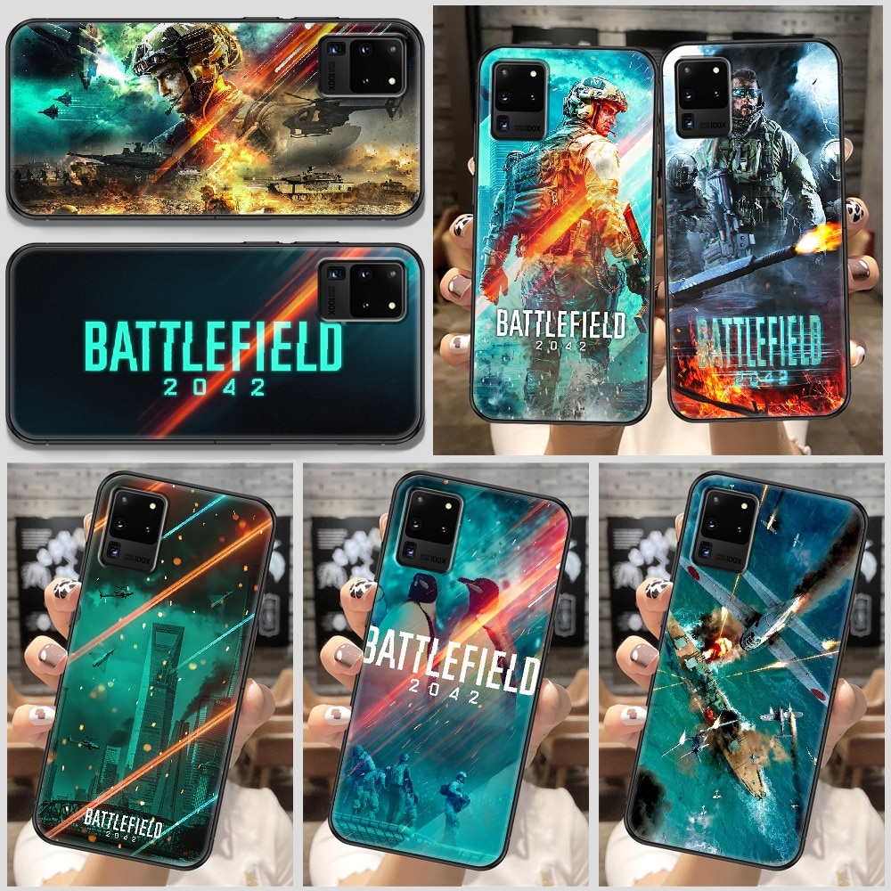 Battlefield 2042 Game Phone case For Samsung Galaxy Note 4 8 9 10 20 S8 S9 S10 S10E S20 Plus UITRA Ultra black painting prime