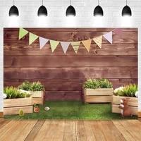 yeele easter spring rabbit bunny wood board baby birthday photography backdrop vinyl background for photo studio photophone prop