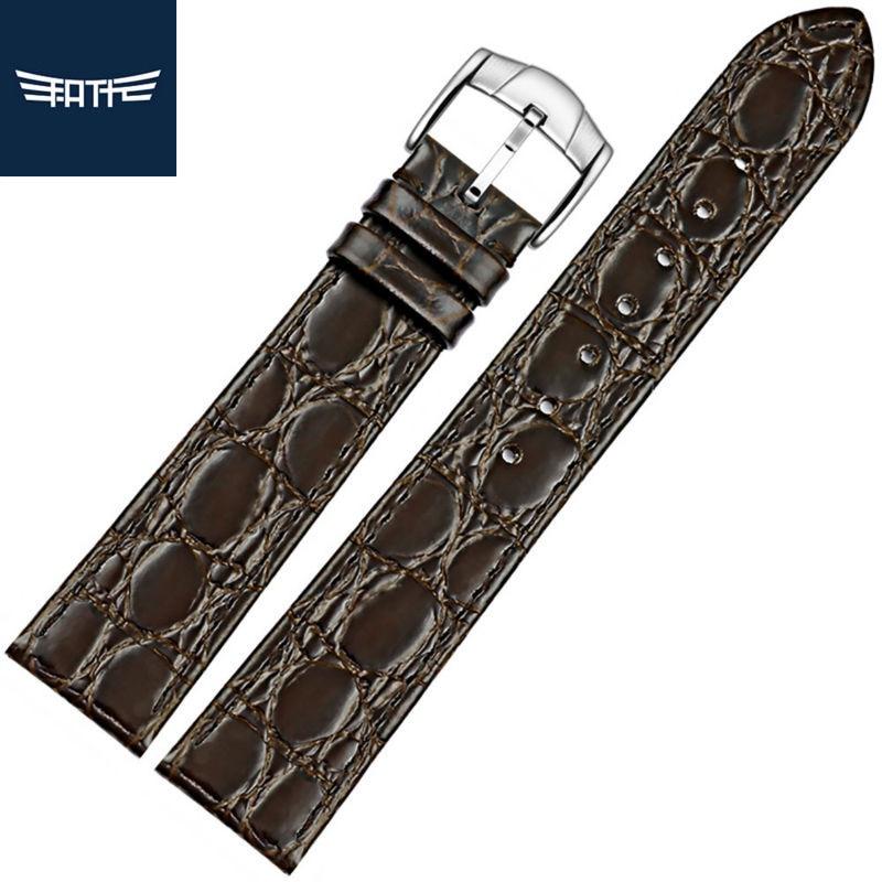 Genuíno de Alta Pulseira de Relógio para Longines com Pino Fatt Feminino Couro Qualidade Fivela 13mm 18mm