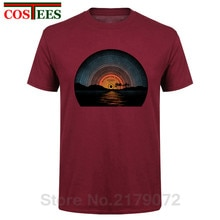 Vintage Vinyl design Sound of Summer T shirts men 2020 new design fashion Retro Summer Time Song T-shirts Summer Music tee shirt