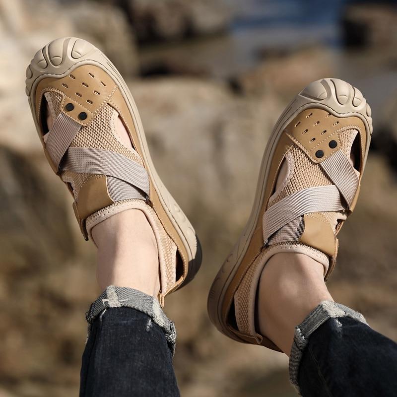 Fashion Men Sandals Man outdoor Summer Beach Casual Shoes Men Platforms Rubber Slippers Comfortable Open Toe Sandal men