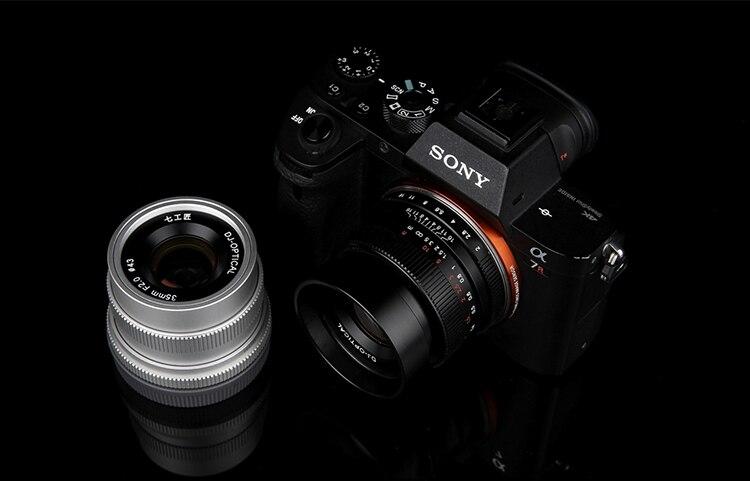 35mm f2 cctv tv filme grande angular lente fixa para sony nex3/5t/6/7 a5000 a6000 a5100 a7s a7r a7ii câmera sem espelho