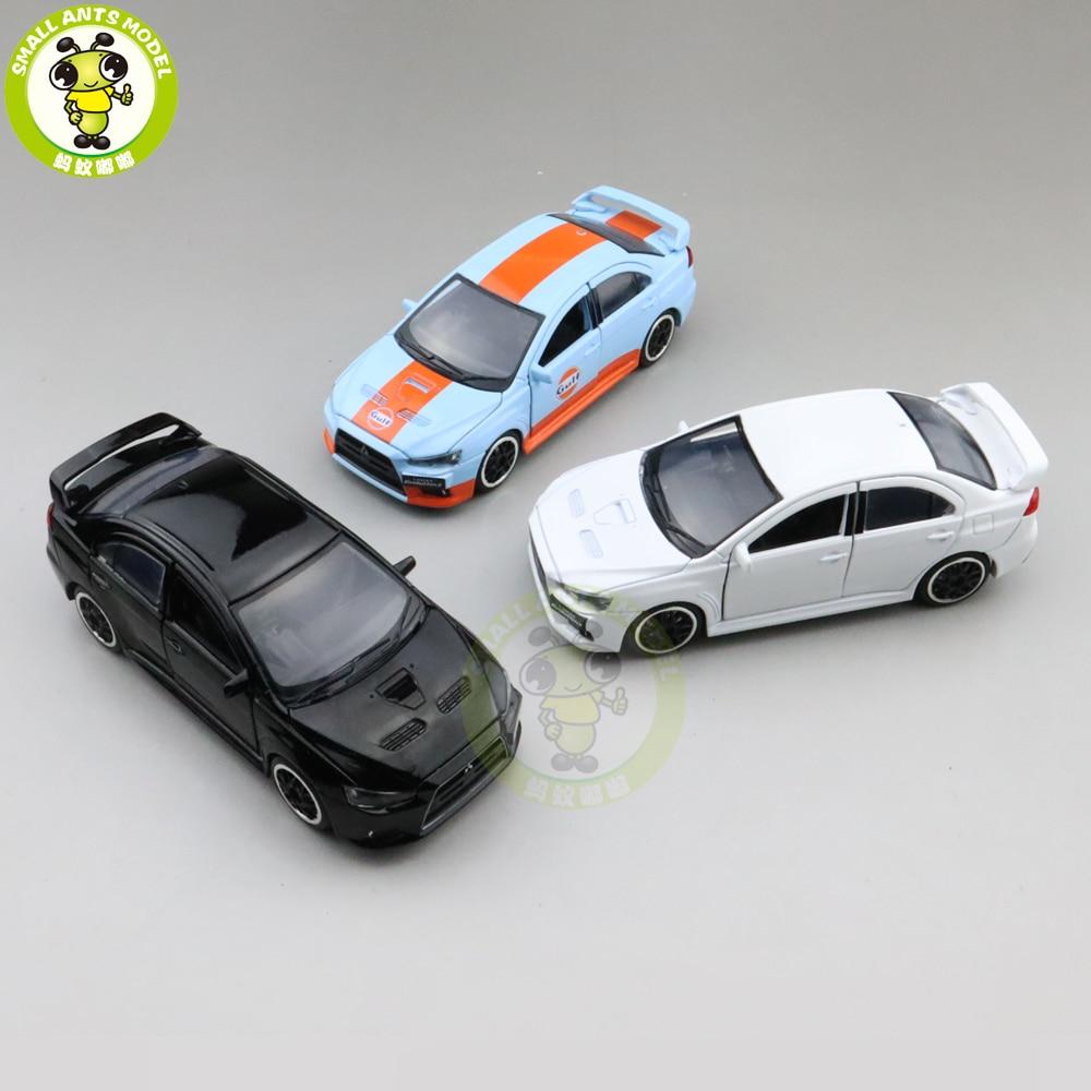 1/32 Lancer EVO 10 X гальванические колеса BBS JACKIEKIM литая под давлением Модель автомобиля игрушки для детей Подарки для мальчиков девочек