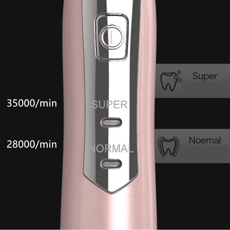 5 Pcs Heads Sonic Electric Toothbrush Adult Timer Brush 2 Mode Whitening Teeth Waterproof Tooth brush Food grade materials enlarge