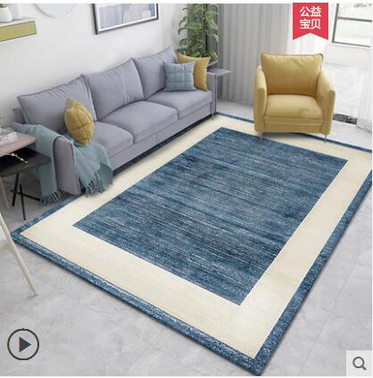 4000*3000mm acrílico moderno e minimalista mediterrâneo âncora design sala de estar sofá mesa chá tapete quarto